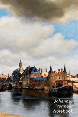Johannes Vermeer Notebook: View of Delft Journal 100-Page Beautiful Lined Art Notebook 6 X 9 Artsy Journal Notebook