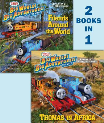 Thomas & Friends Summer 2018 DVD Movie Deluxe 2-In-1 Pictureback with Stickers