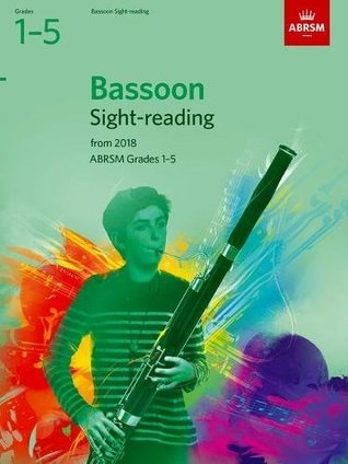 Bassoon Sight-Reading Tests, ABRSM Grades 1-5: from 2018