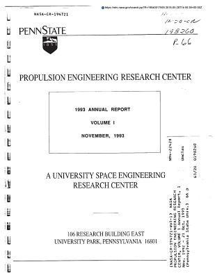 NASA Propulsion Engineering Research Center, Volume 1