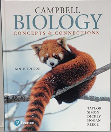 Campbell Biology Concepts & Connections, 9th edition