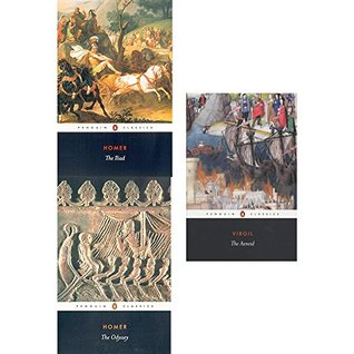 Penguin classics homer the iliad, odyssey and aeneid 3 books collection set