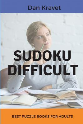 Sudoku Difficult: Best Puzzle Books for Adults