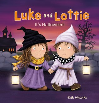 Luke and Lottie. It's Halloween!