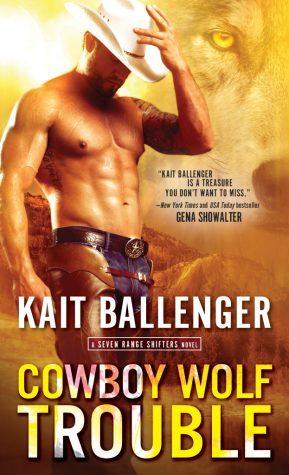 Cowboy Wolf Trouble (Seven Range Shifters, #1)