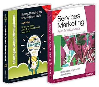 Marketing Books Combo of Strategic Brand Management & Services Marketing (Set of 2 books)
