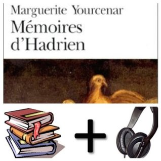 Memoires d' Hadrien Audiobook PACK [Book + 1 CD MP3]