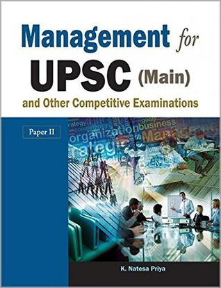 Management For Upsc (Main) And Other Competitive Examinations