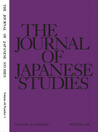 The Journal of Japanese Studies (Vol. 33 No. 1)
