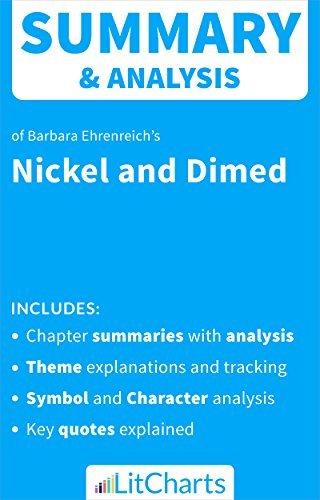 Summary & Analysis of Nickel and Dimed by Barbara Ehrenreich