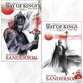 Brandon Sanderson Stormlight Archive Book One Collection 2 Books Bundle With Gift Journal (The Way of Kings Part One, The Way of Kings Part Two)