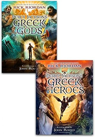 Percy Jacksons Greek Myths Collection Rick Riordan 2 Books Set