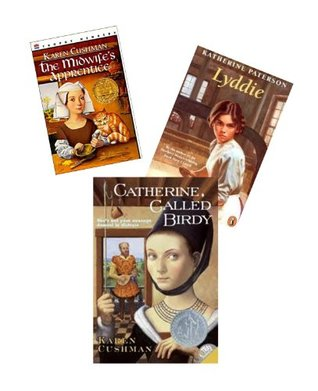 Historical Fiction Books : The Midwife's Apprentice - Catherine Called Birdy; Shadow By the Sea (Children Book Sets : Grade 5 - 7)