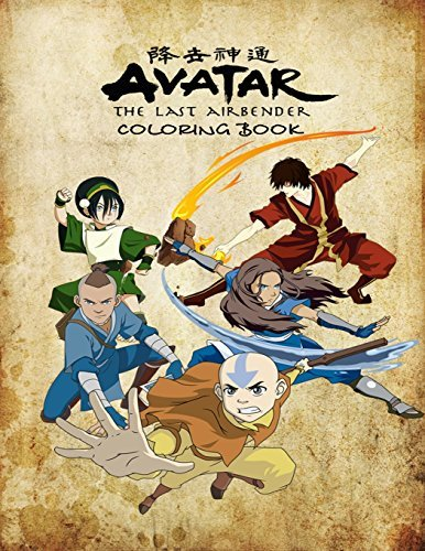 Avatar the Last Airbender Coloring Book: Coloring Book for Kids and Adults, This Amazing Coloring Book Will Make Your Kids Happier and Give Them Joy