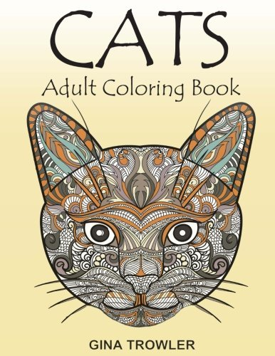 Cats: Adult Coloring Book: Cat Lover