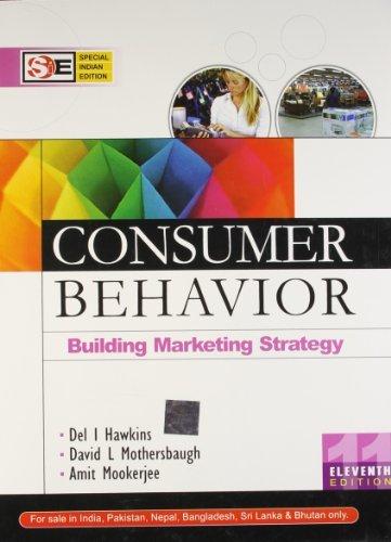 Consumer Behavior: Building Marketing Strategy W/Cd