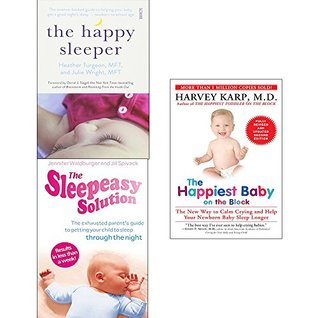 Happy sleeper, sleepeasy solution and happiest baby on the block 3 books collection set