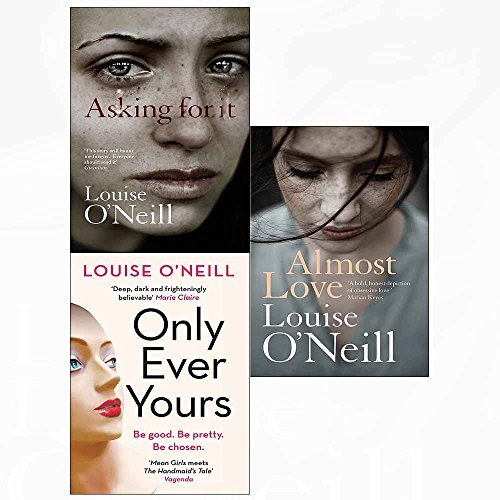 Almost love[hardcover], asking for it, only ever yours 3 books collection set