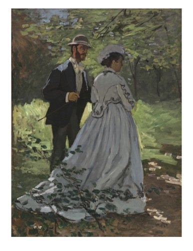 """Claude Monet Bazille and Camille: Decorative Notebook + Journal (8.5"""" x 11"""")"""