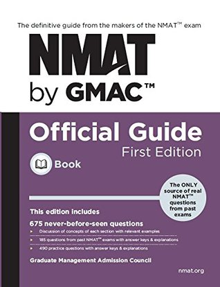 NMAT by GMAC Official Guide ( Global 1st Edition )