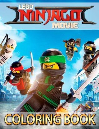LEGO NINJAGO Movie: Coloring Book for Kids, for boys & girls (33 high-quality Illustrations)