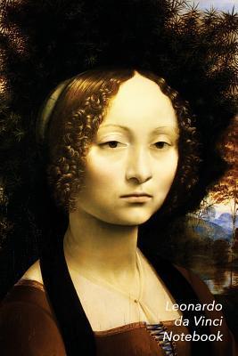 Leonardo Da Vinci Notebook: Portrait of Ginevra de Benci Journal 100-Page Beautiful Lined Art Notebook 6 X 9 Artsy Journal Notebook