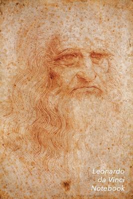 Leonardo Da Vinci Notebook: Portrait of a Man in Red Chalk Journal 100-Page Beautiful Lined Art Notebook 6 X 9 Artsy Journal Notebook