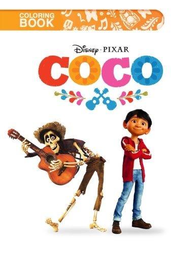 Coco Coloring Book: Disney Pixar Coco