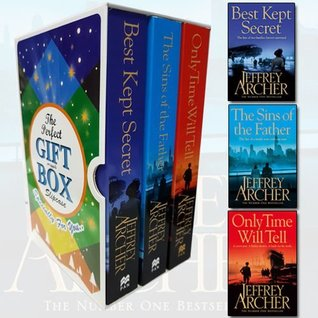 Jeffrey Archer Clifton Chronicles Series 3 Books Bundle Collection Gift Wrapped Slipcase Specially For You