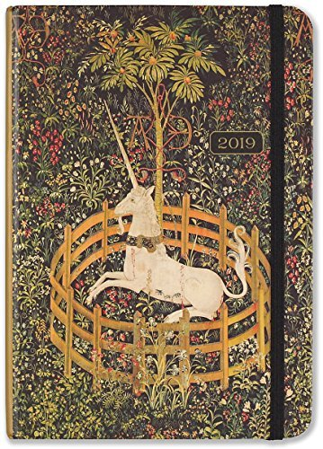 2019 Unicorn Tapestry Weekly Planner (16-Month Engagement Calendar)