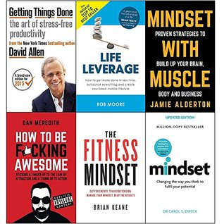 Getting Things Done / Life Leverage / Mindset with Muscle / How to be F*cking Awesome / Fitness Mindset / Mindset