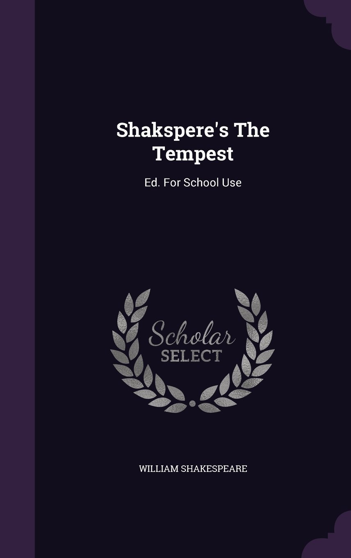 Shakspere's the Tempest
