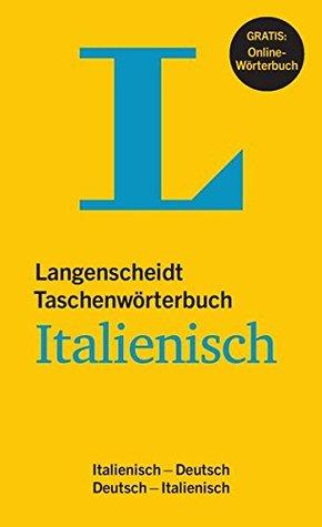 Langenscheidt Taschenwörterbuch Italienisch Deutsch