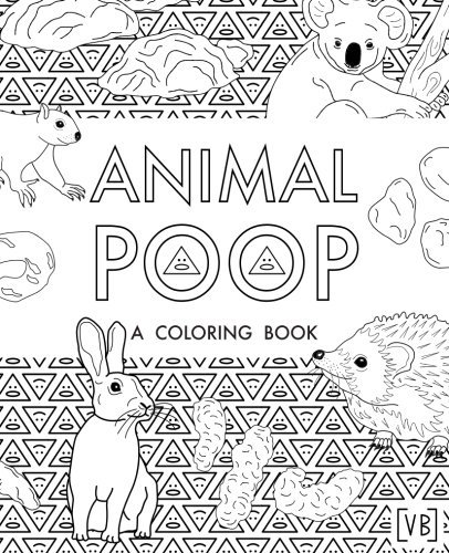 Animal Poop: A Coloring Book