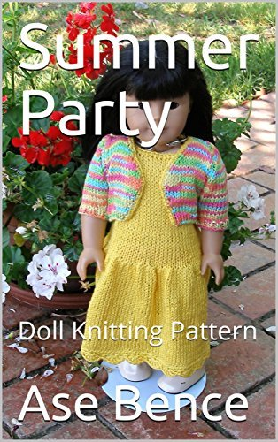 Summer Party: Doll Knitting Pattern