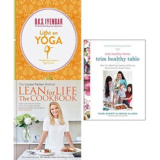 Trim healthy mama, light on yoga and louise parker method lean for life [hardcover] 3 books collection set