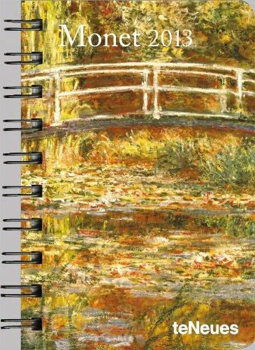 2013 Claude Monet Pocket Deluxe Diary