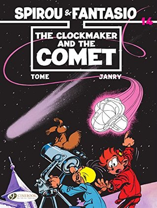 Spirou & Fantasio - Volume 14: The Clockmaker and the Comet