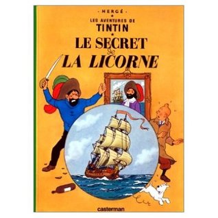 Tintin collection 24 titles in French (mini version)