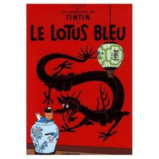 Les Aventures de Tintin : Le Lotus Bleu - L'Affaire Tournesol (Two books and DVD Combination)