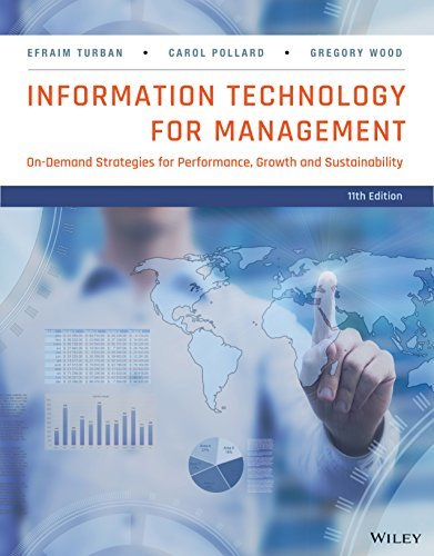 Information Technology for Management: On-Demand Strategies for Performance, Growth and Sustainability, 11th Edition