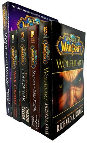 World of warcraft series 5 books collection set
