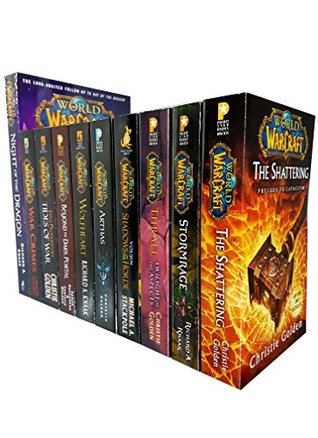 World of warcraft series 10 books collection set