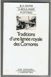 Tradition d'une lignée royale des comores