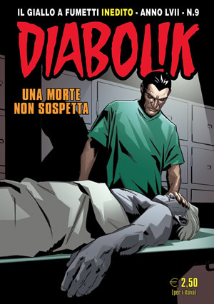 Diabolik anno LVII n. 9: Una morte non sospetta