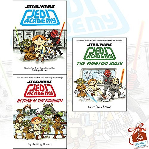 Star Wars Jedi Academy Collection 3 Books Bundle With Gift Journal