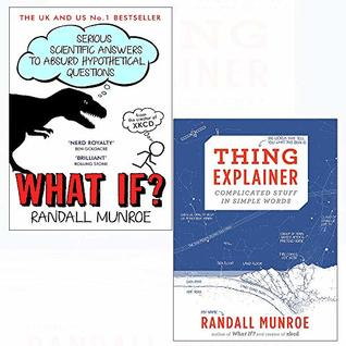 What if and thing explainer[ hardcover] 2 books collection set
