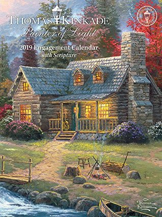 Thomas Kinkade Painter of Light with Scripture 2019 Engagement Calendar