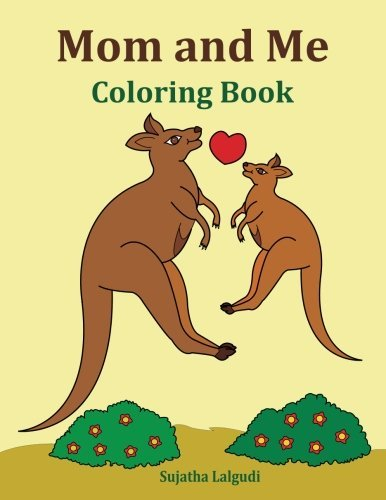 Mom and Me Coloring Book: Gift for Mom, From Daughter, From Son, Side by Side Coloring, Animals, Mom Gifts, Birthday