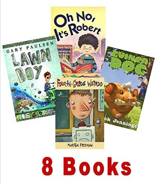 Book Sets for Kids: 4th Grade Weirdo; Is That a Dead Dog in Your Locker; Oh No It's Robert; Dead Time Stories